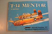 T-34 MENTOR in Action. Lou Drendel. 1990. Squadron Signal.