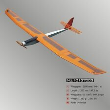 "Glider Big E-Fair (98.4"") ARF Electric RC Airplane Balsa Wood Model Plane"
