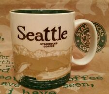 Starbucks Coffee City Mug/Tasse/Becher SEATTLE, Global Icon, NEU & unbenutzt!!!!