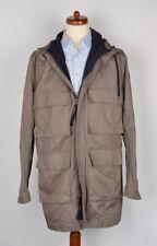 MARNI at H&M Jacke Jacket Gr 50 Baumwolle Cotton HERBST AUTUMN Leicht Grau 40R