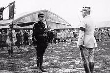 WW1 - Georges Guynemer décoré sur le front des troupes