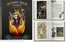 Deviant Moon Tarot Companion Book NEW Patrick Valenza Upright Reversed Meanings