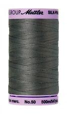 Mettler 50 Weight Silk Finish Cotton Thread 547 yards Old Tin