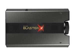 Creative Sound BlasterX G6 External USB Hi-Res Gaming DAC and Sound Card