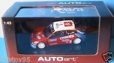 CITROEN XSARA WRC #3 RALLYE FRANCE 2004 SEBASTIEN LOEB ELENA AUTOART 60438 1/43