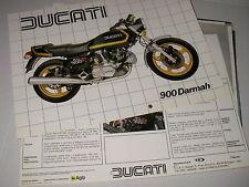 DUCATI  900  DARMAH  (depliant-prospekt-brochure)