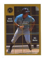 """ADRIAN GONZALEZ """"50 CARD LOT"""" 2001 JUST MINORS GOLD 2K1 ROOKIE CARD! CLOSEOUT!"""