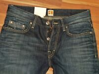 Neu - Hugo Boss - W31 L34 - Orange  BO1 31  - Denim Wash - Regular Jeans - 31/34