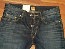 Neu - Hugo Boss - W31 L34 - Orange  BO1 31  - Dark Used - Jeans - 31/34