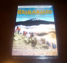 IMAX - KILIMANJARO Africa African Mountain Climbing Climbers Explorer DVD NEW