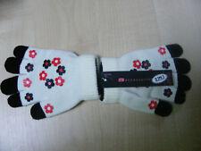 Chicas 2en1 Magia Blanca Stretch guantes de goma de agarre de palma