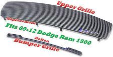 2011 2009 09-12 2012 2010 10 11 Dodge Ram 1500  Billet Grille 2PC Combo