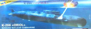 K-266 Oriol Russian Nuclear Submarine scale 1/35