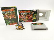 "Super Nintendo Spiel "" Donkey Kong Country 1  "" Snes | Ovp | Pal |"