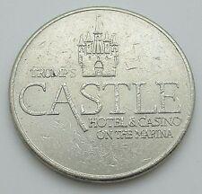 Casino $1 Token - Trump's Castle Hotel Atlantic City New Jersey - Free Shipping