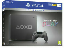 Sony PlayStation 4 Slim Days of Play Limited Edition 1TB Console - Steel Black