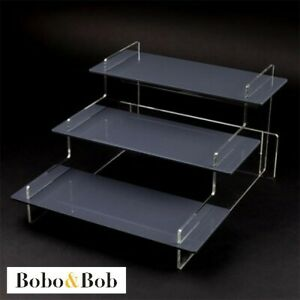 Stall Display Stand - Craft Fair - Market - Retail - Tiered Acrylic - 5 Colours