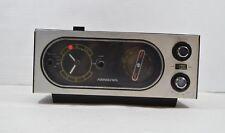 Vintage 60s Soundesign 3451 Mid Century Modern MCM AM/FM Alarm Clock Radio