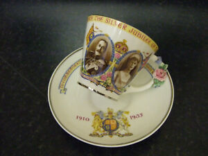 Paragon King George V Silver Jubilee Cup and saucer