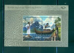 Norway - Sc# 1401a. 2004 Norse Mythology Souv. Sheet. MNH $7.50.