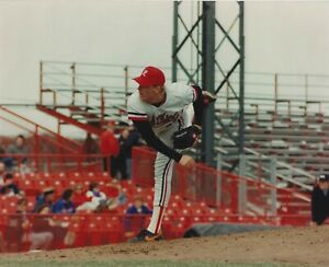 """Curt Schilling Rochester Red Wings 1989 8"""" x 10"""" Photograph Baltimore Orioles"""