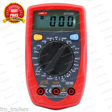 UNI-T UT-33D Digital Multimeter, Palm Size Digital Electrical Multi-Meters UT33