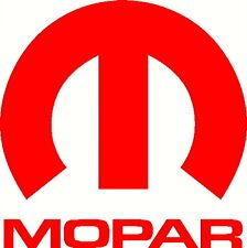 """Mopar Vinyl Decal Sticker Dodge Jeep, 5""""X5"""" DIE CUT. RED"""