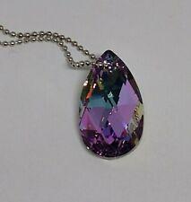 Swarovski Crystal Vitrail Light 28mm Pear 6106 Suncatcher/ Ornament/ Prism