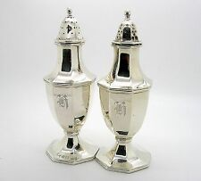 1911 BAILEY BANKS AND BIDDLE COMPANY STERLING SALT AND PEPPER SHAKERS (PAIR 1)