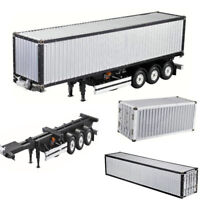 1/14 RC 20/40FT Alum Frame Container Kit For Tamiya Scania R620 Actros Trailer