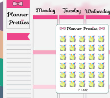 P1632 Cleaning Day Bucket Planner Stickers