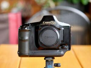 Canon T90 Kamera gereinigt, getestet, volle Funktion. Profikamera