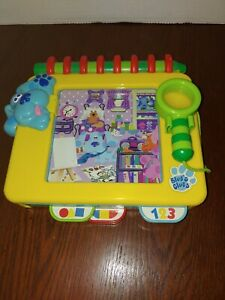 1998 Blues Clues Handy Dandy Notebook Seek Find Game Search Magnifying Glass