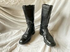 """Lewis Leather """"Original"""" Vintage Aviakit Motorcycle Boots Size 9"""