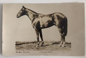 Horse Racing Postcard HEROIC