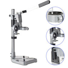 Bench Clamp Drill Press Stand Electric Drilling Pedestal Holder Double Hole