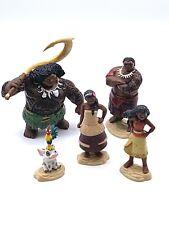 Moana Disney Lot of 5 Action Figures Toys Jakks