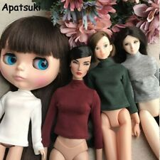 Long Sleeve T-Shirt for Blythe Doll Base Shirt Clothes For Barbie Blouse Momoko