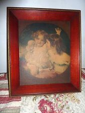 Vintage Calmady Children  Sir Thomas Lawrence  picture w/ frame