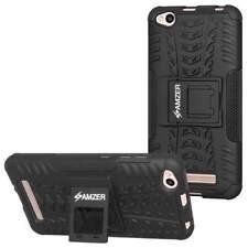 AMZER Impact Resistant Rugged Hybrid Warrior Kickstand Case for Xiaomi Redmi 4a