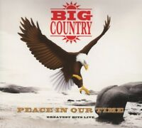 """BIG COUNTRY """"PEACE IN OUR TIME - GREATEST HITS LIVE""""  CD NEW!"""