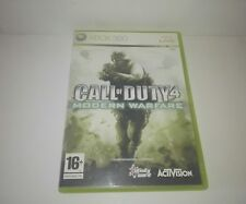 Call of Duty 4: Modern Warfare Pal  Spain Xbox 360 Original version.