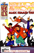 NEW KIDS ON THE BLOCK: MAGIC SUMMER TOUR #1 Very Good Comics Book