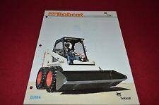 Bobcat 843 Skid Steer Loader Dealers Brochure DCPA2