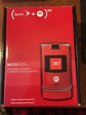 Motorola Razr V3m Red (Sprint) Cellular Phone Brand New, Free Shipping!