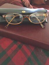 Tan Crystal Lam Eye Glass Frames