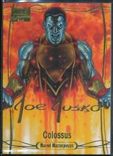 2016 Marvel Masterpieces Gold Foil Signature Trading Card #74 Colossus