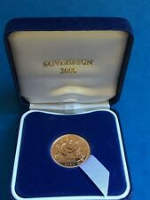 2000  FULL SOVEREIGN UNCIRCULATED. complete with BOX & CERTIFICATE all.MINT COND