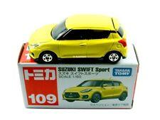 TOMICA / #109 - Suzuki Swift Sport (Yellow) - Mint in box.