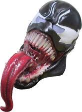 Morris Costumes Men's Spider-Man Venom Latex Halloween Mask One Size. RU36307
